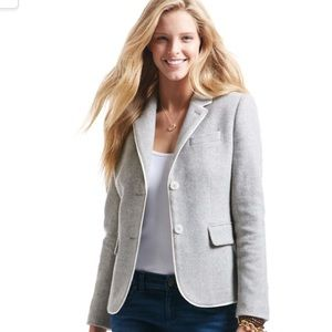 Vineyard Vines Merino Wool Herringbone Blazer